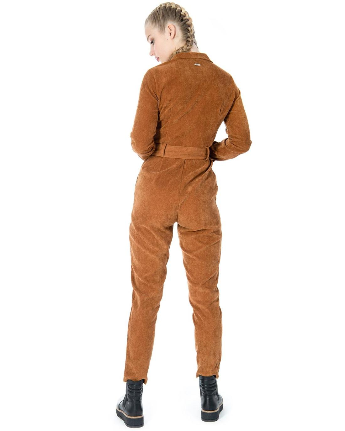 Camel jumpsuit
