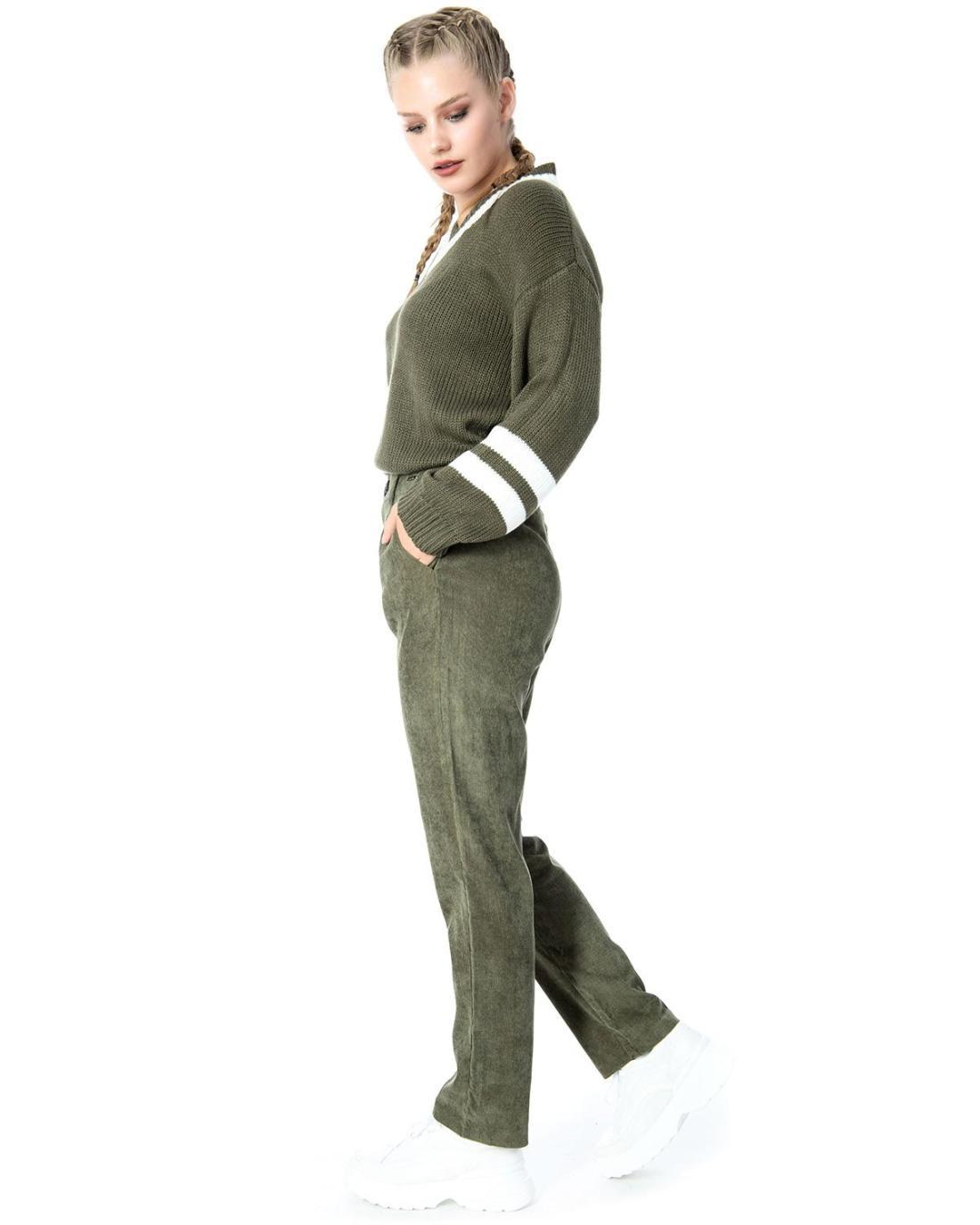 Khaki trousers