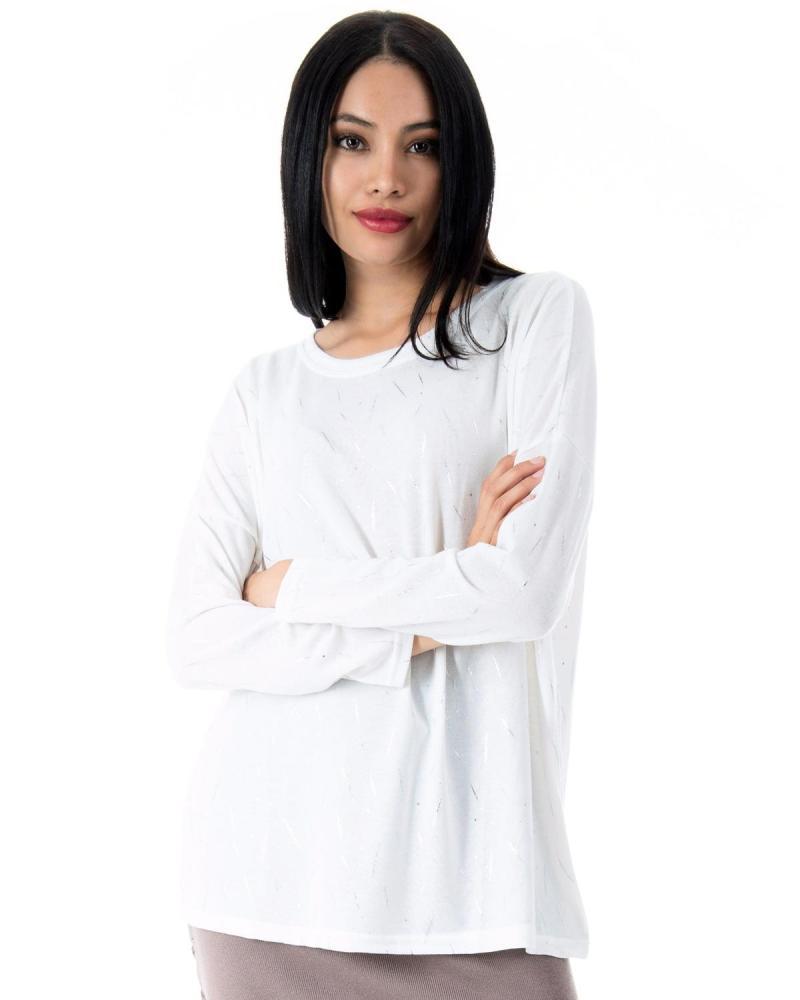 Μπλούζα άσπρη