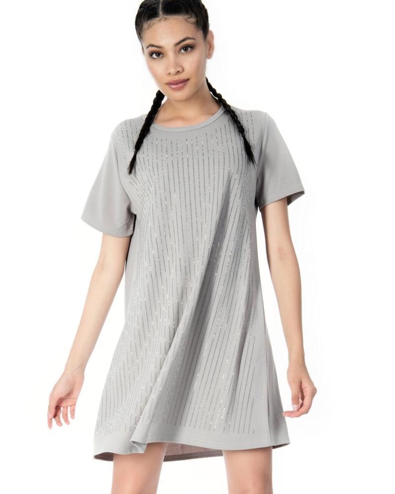 Φόρεμα γκρι
