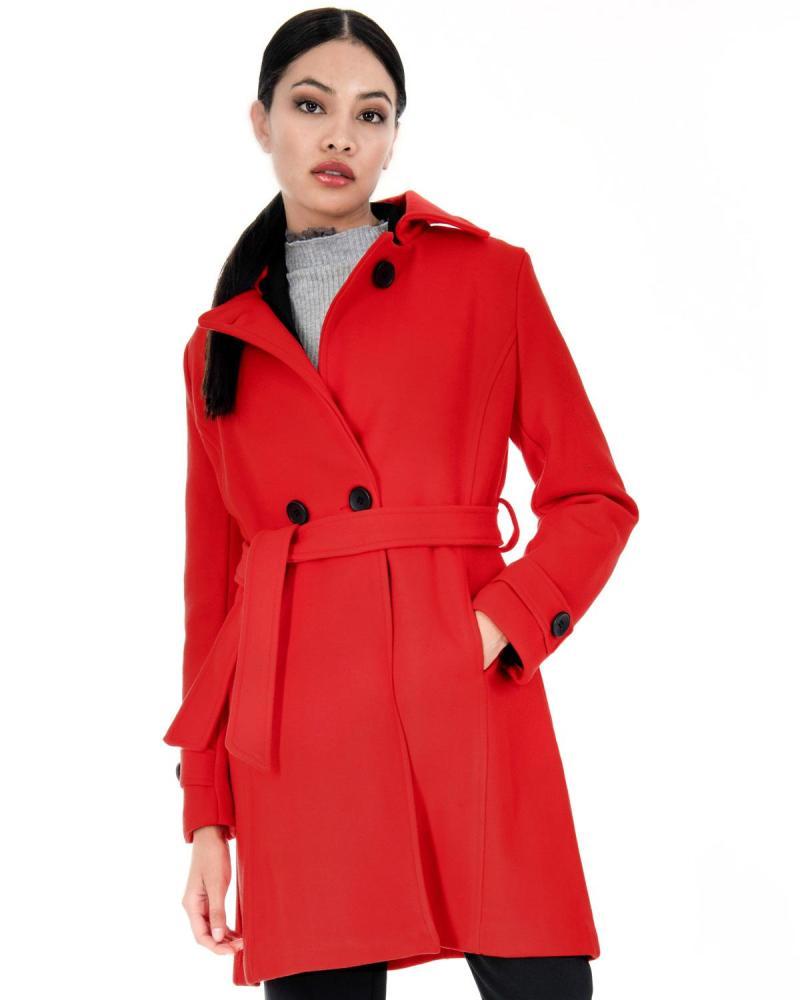 Παλτό κόκκινο