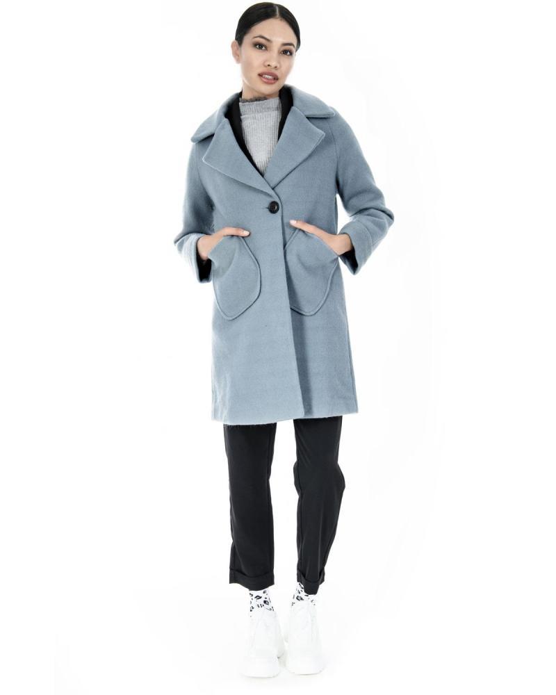 Παλτό γαλάζιο