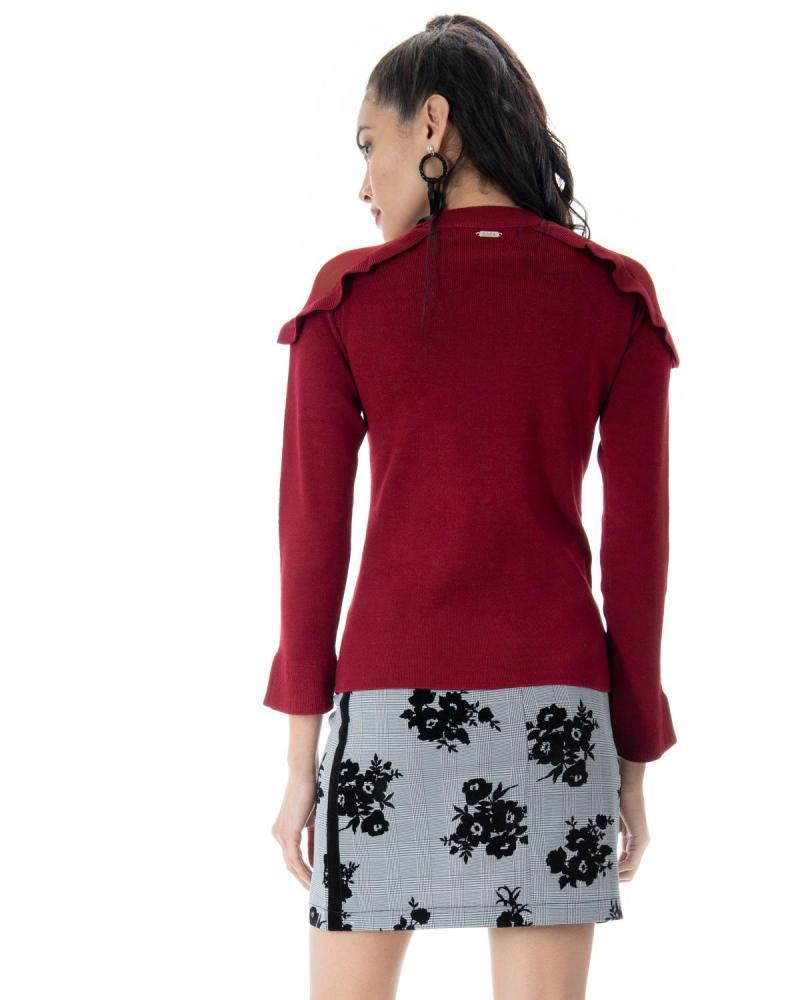 Bordeaux blouse
