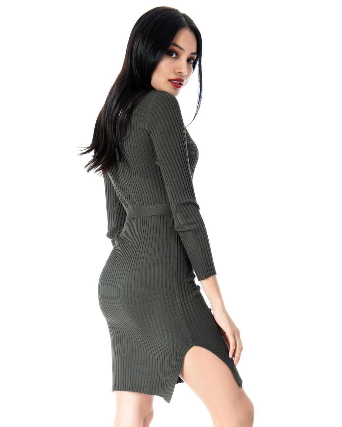 Khaki Kleid