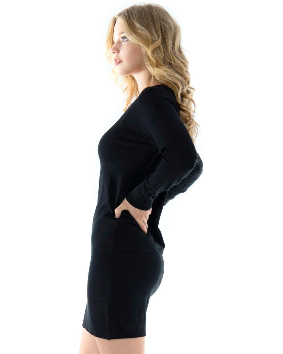 Μπλουζοφόρεμα μαύρο