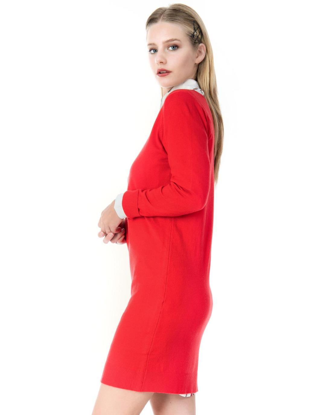 Μπλουζοφόρεμα κόκκινο
