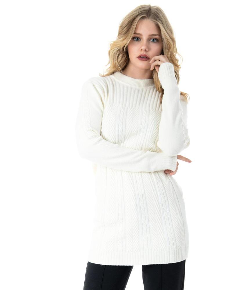 Weißes Hemdkleid