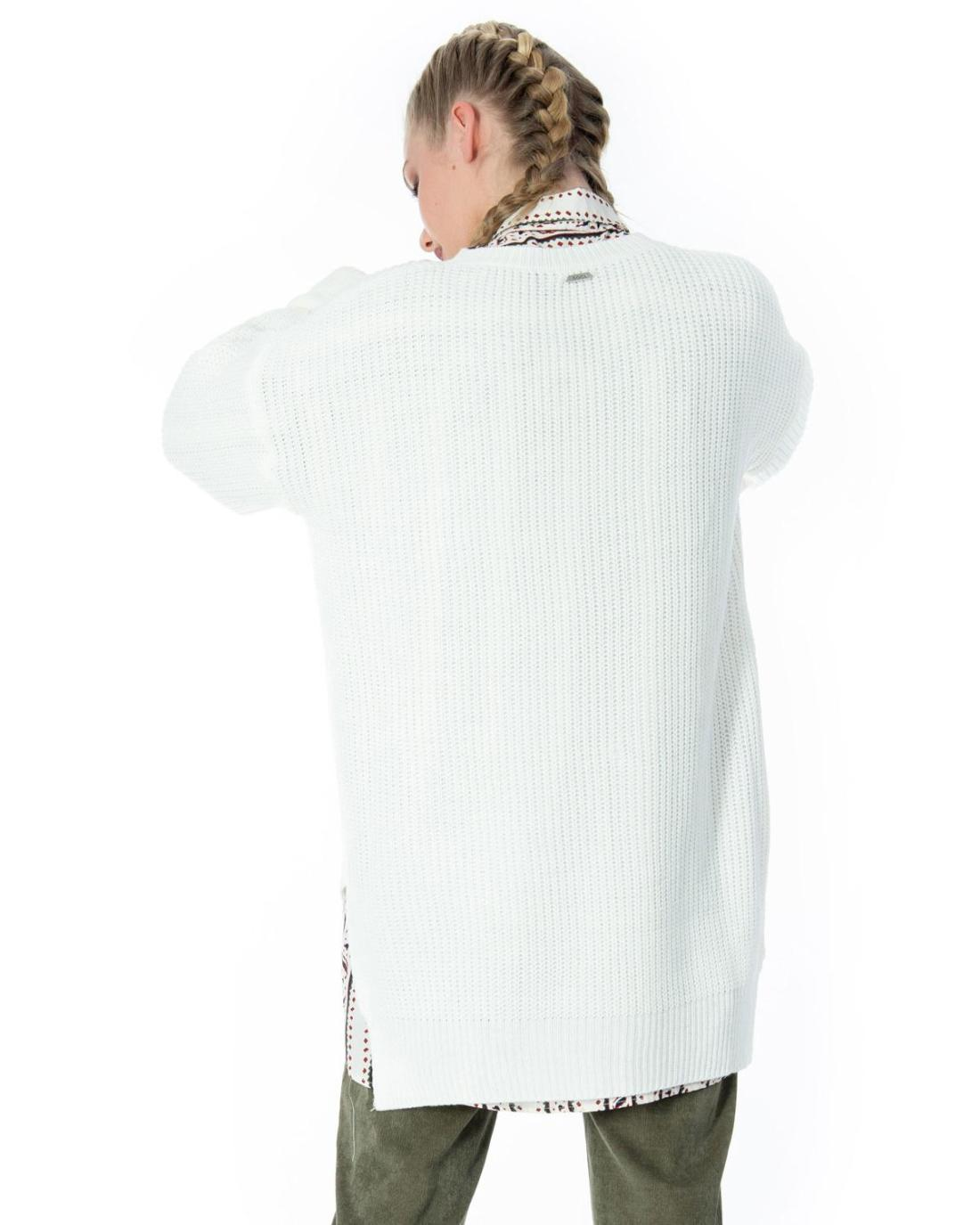 new products f08e3 fdee8 Weißer Pullover