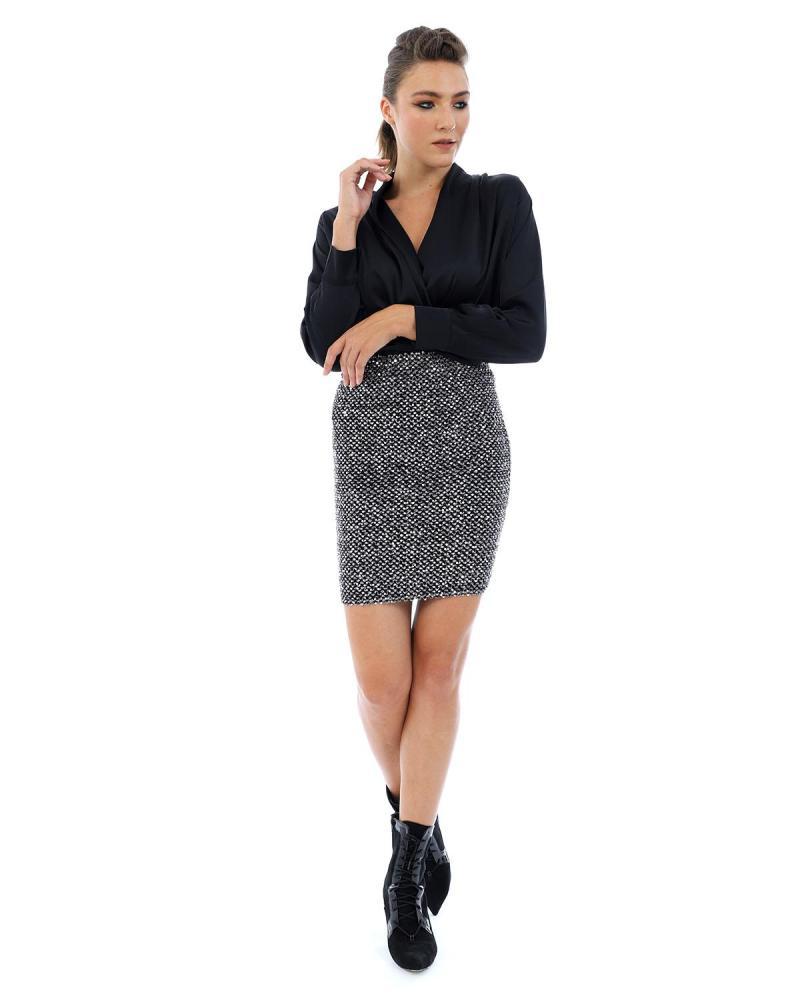 Φούστα ασημί