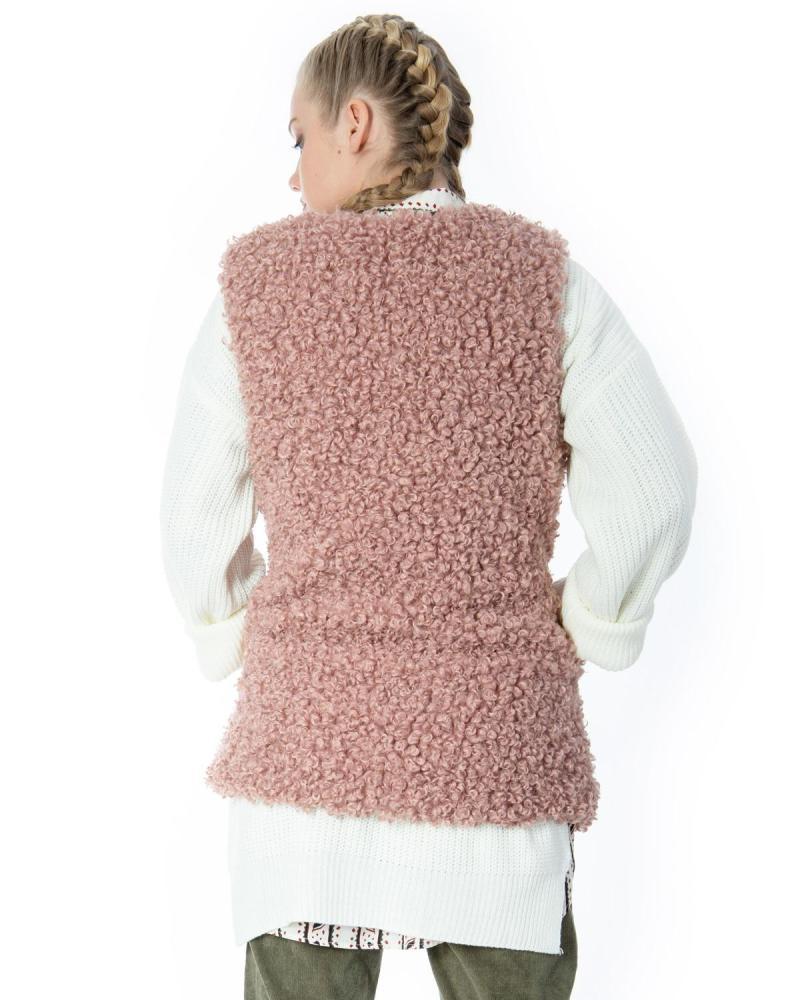 Γιλέκο ροζ