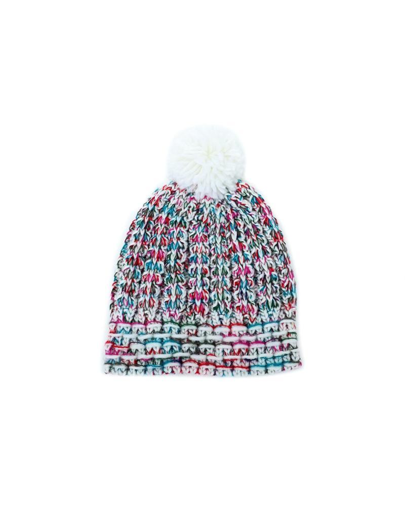 Mütze mehrfarbig