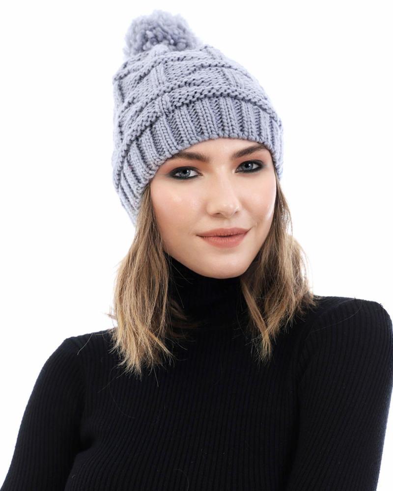 Grey beanie