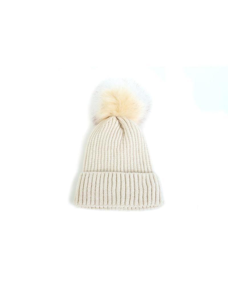 Mütze ekrü