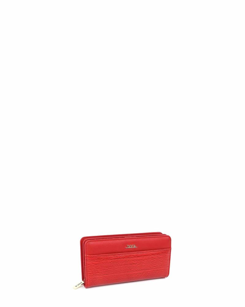 Red wallet