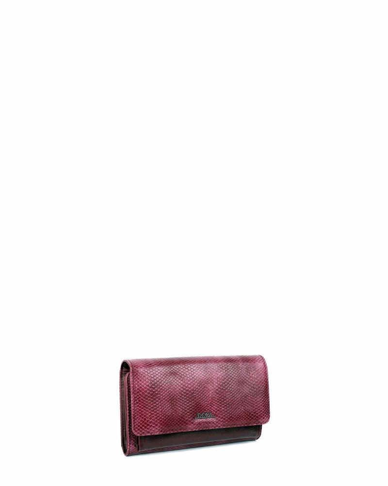 Portemonnaie bordeaux