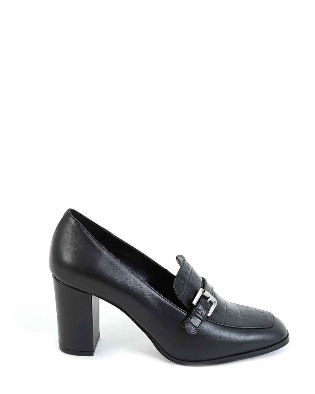 Leder Schwarze Loafers