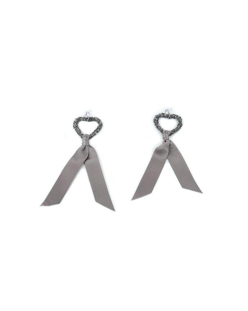 Grey earrings