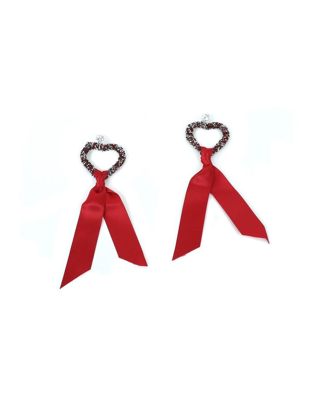 Σκουλαρίκια κόκκινα