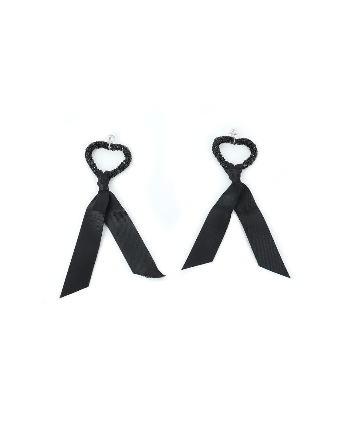 Ohrringe schwarz