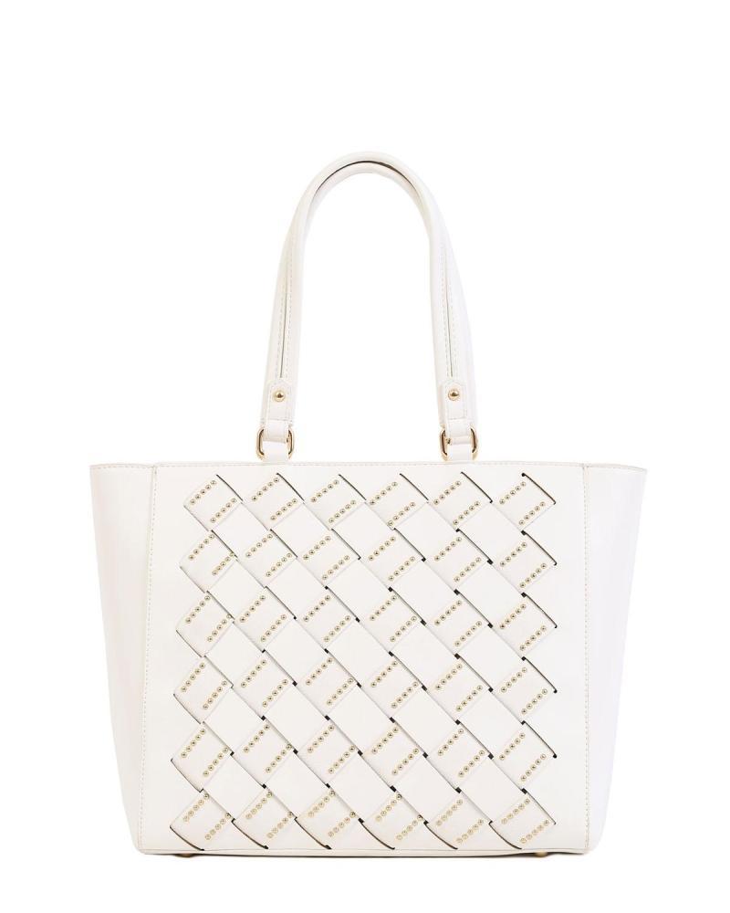 Καθημερινή τσάντα χειρός/ώμου άσπρη