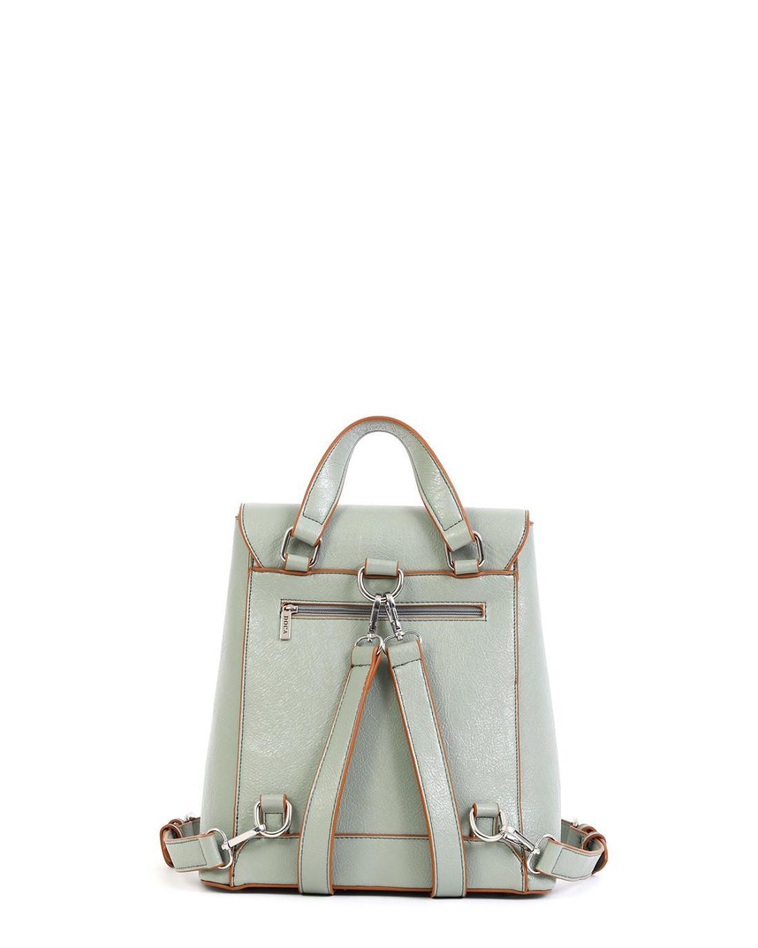 Mint green backpack