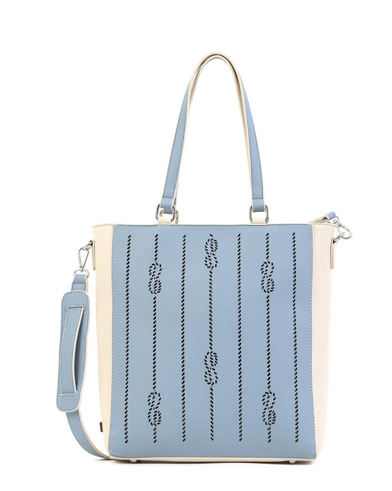 Light blue handbag