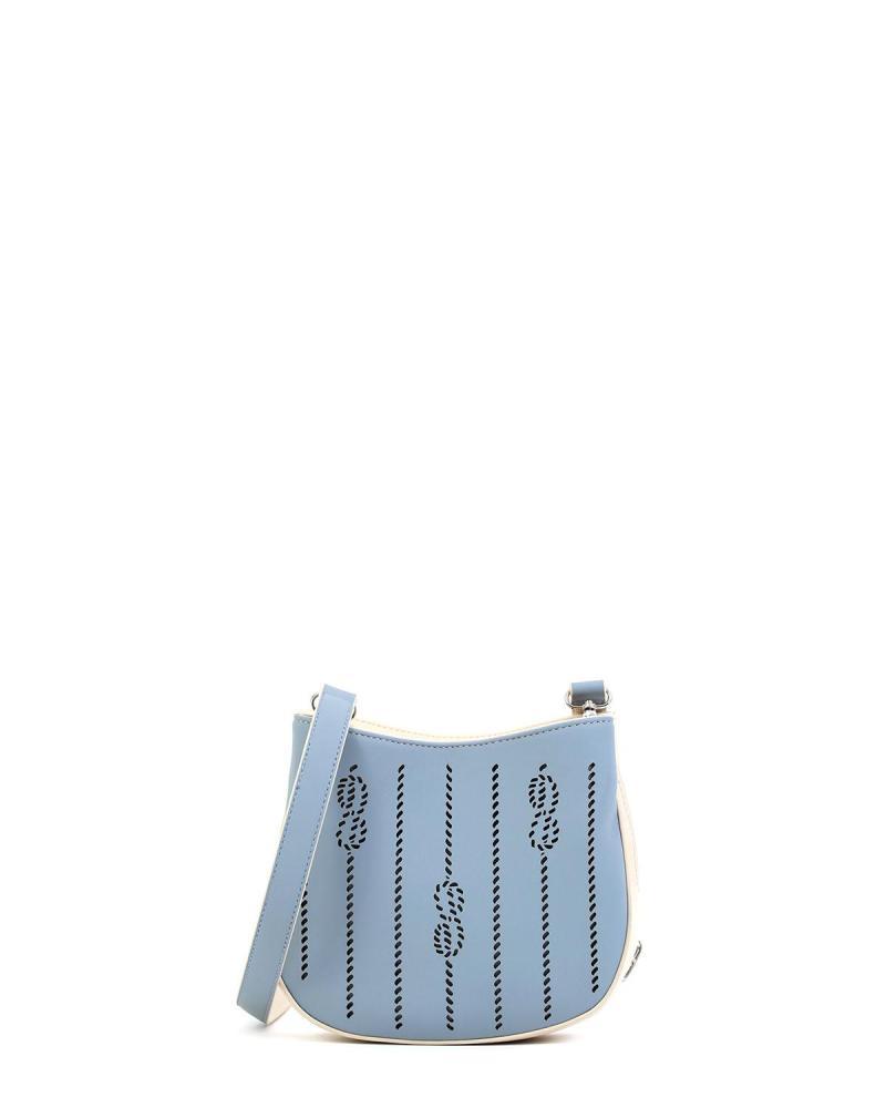 Light blue cross body bag