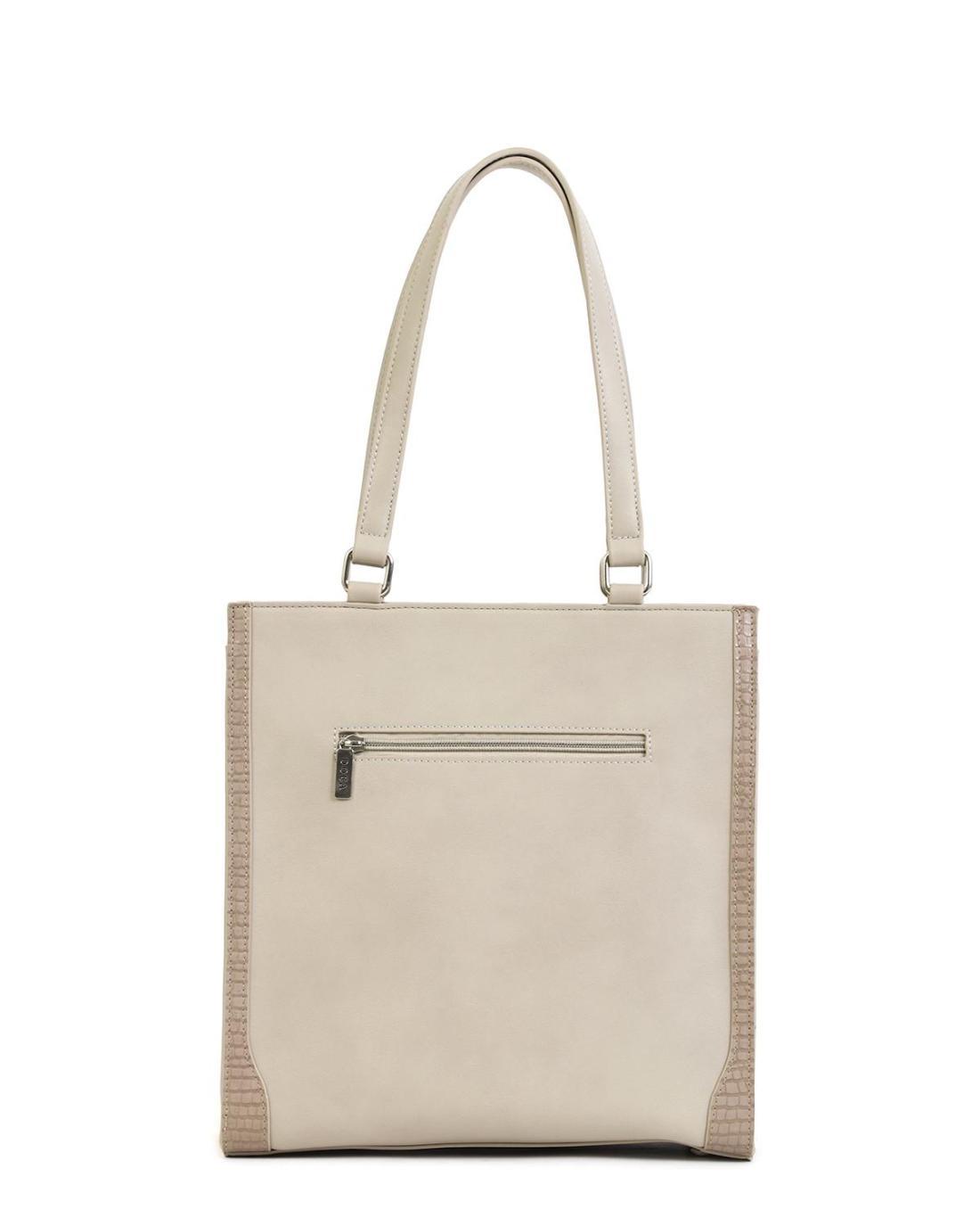 Grau handtasche