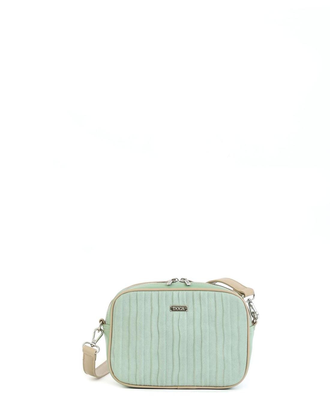 Mint green cross body bag