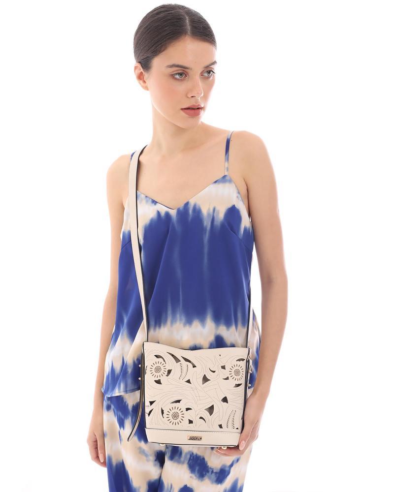 Τσάντα χιαστί γαλάζια
