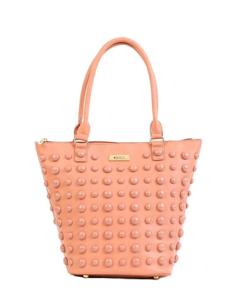 Καθημερινή τσάντα χειρός/ώμου ροζ