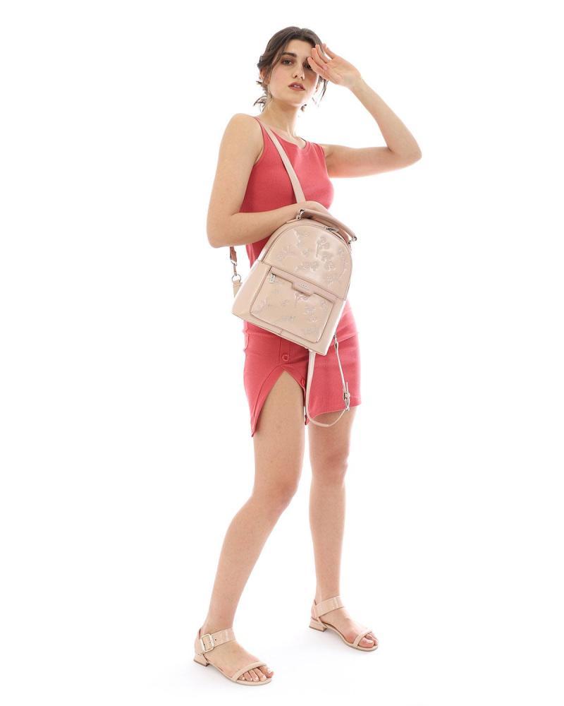 Beige rucksack
