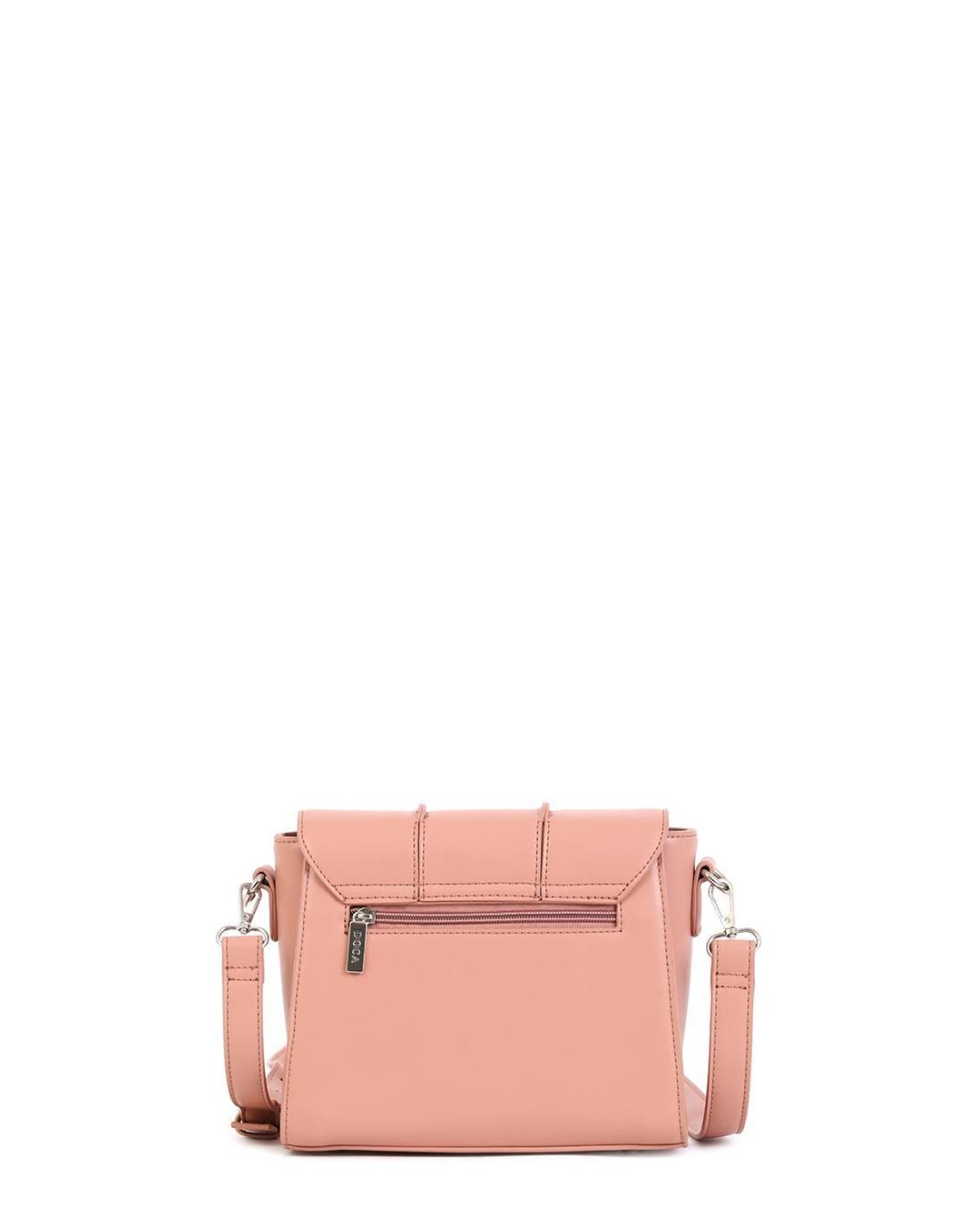 Τσάντα χιαστί ροζ