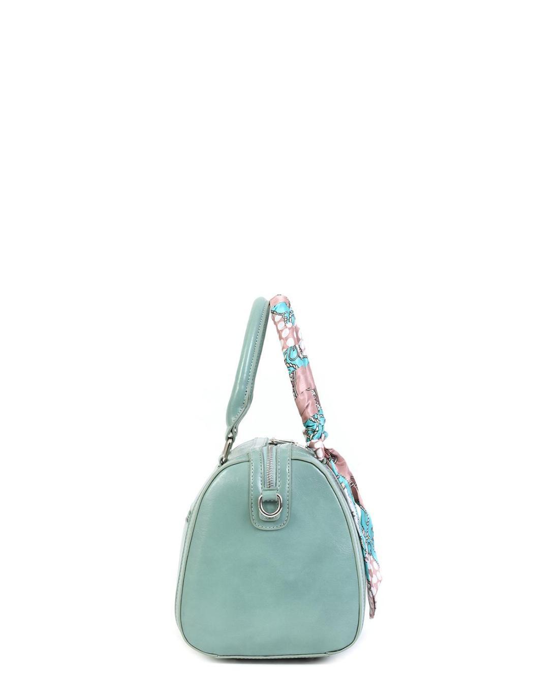 Καθημερινή τσάντα χειρός/ώμου πράσινο της μέντας