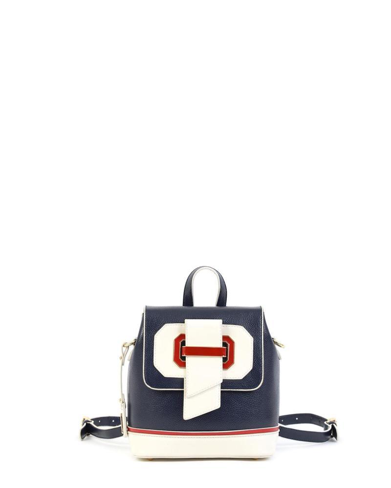 Blue backpack