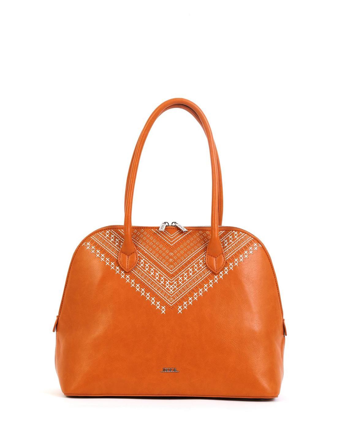 Camel handbag