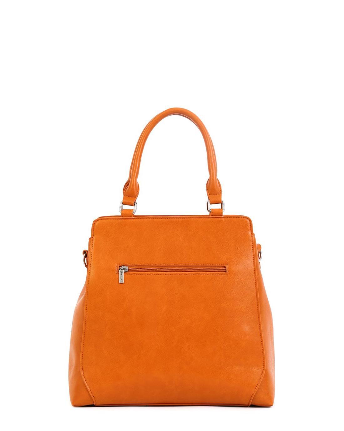 Καθημερινή τσάντα χειρός/ώμου κάμελ