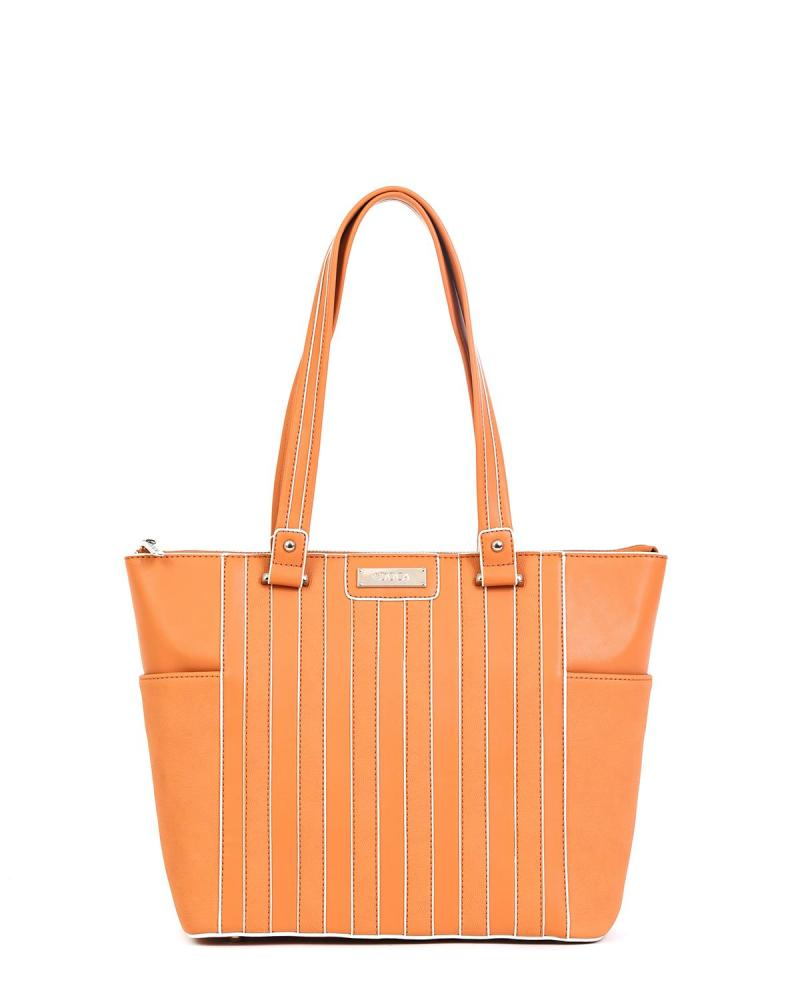Orange handtasche