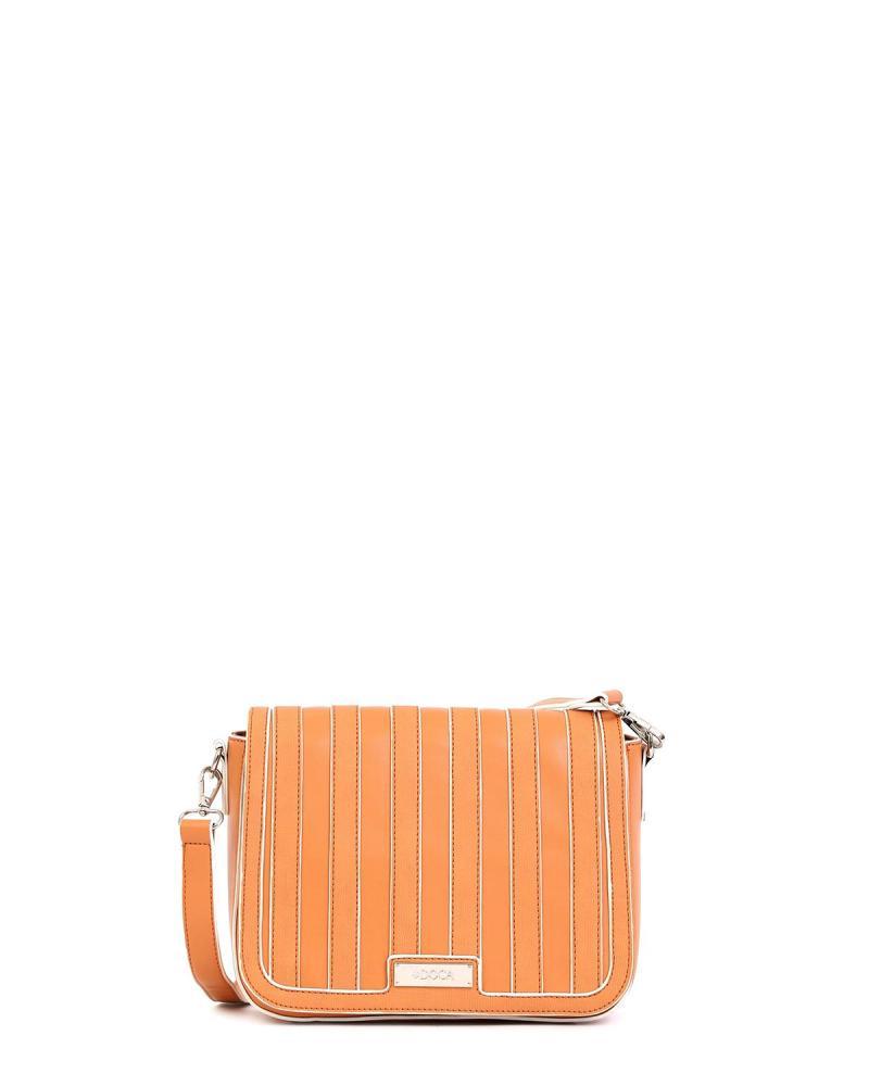 Τσάντα χιαστί πορτοκαλί