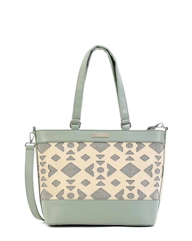 Minzgrüne handtasche
