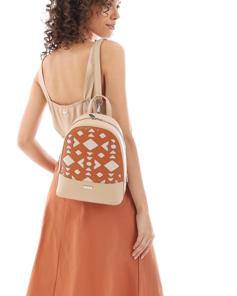 Minzgrüne rucksack