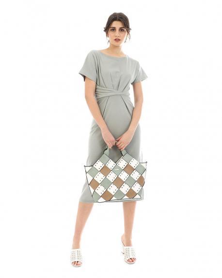 Braune handtasche