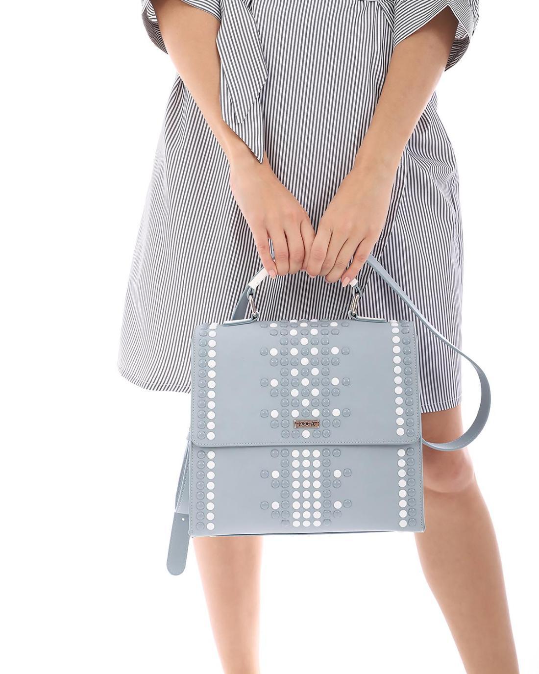 Καθημερινή τσάντα χειρός/ώμου γαλάζια