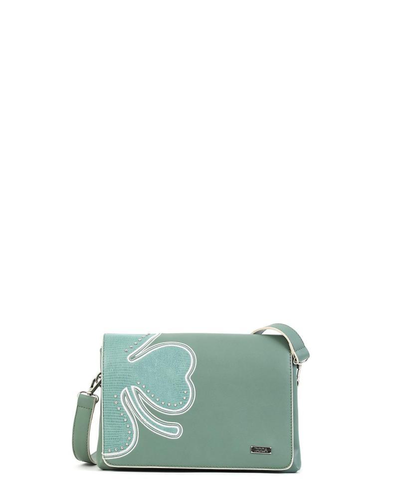 Τσάντα χιαστί πράσινο της μέντας