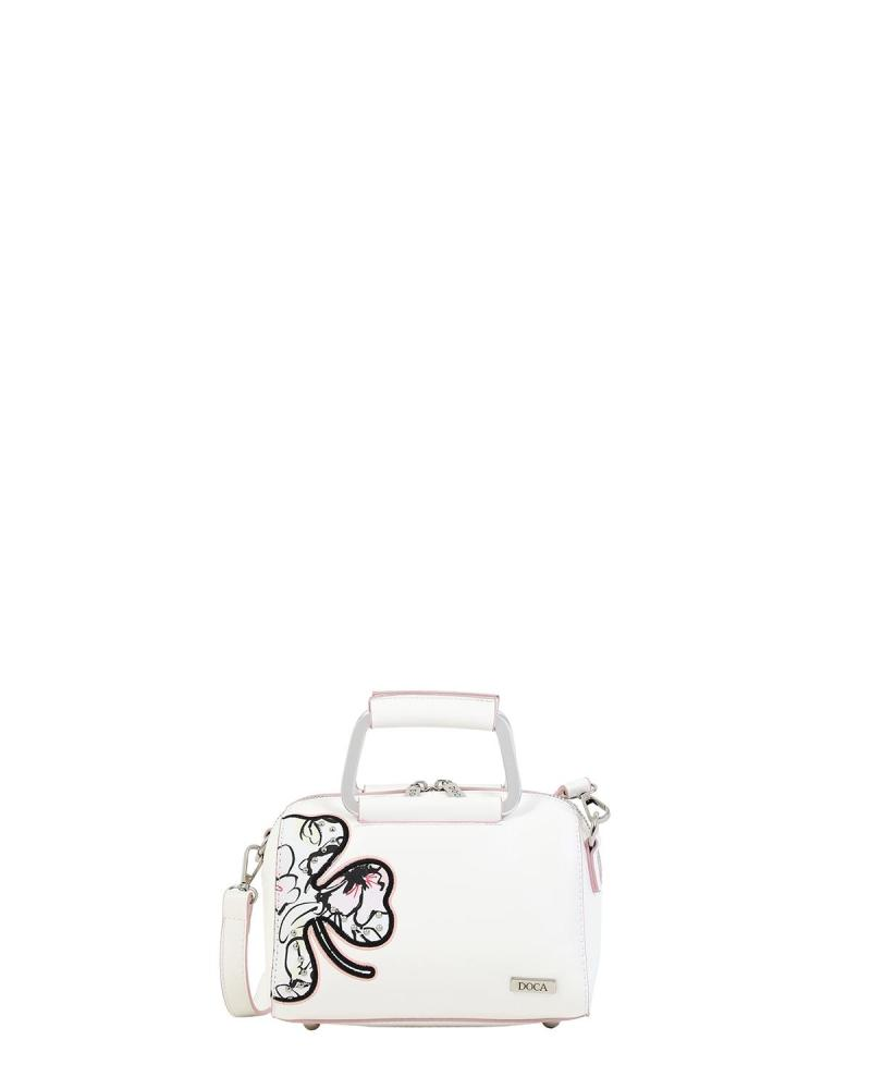Τσάντα χιαστί άσπρη