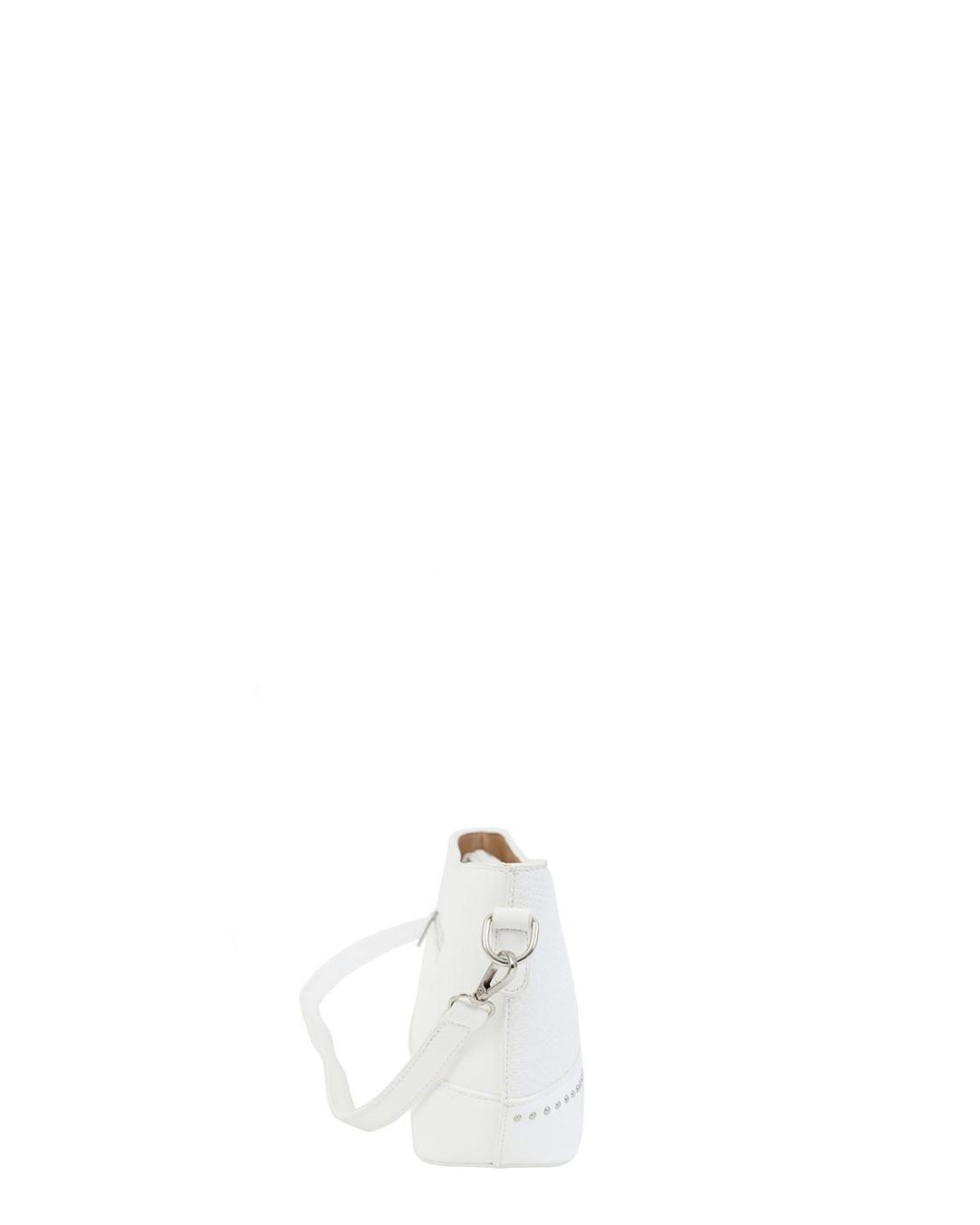 Weiße umhängetasche