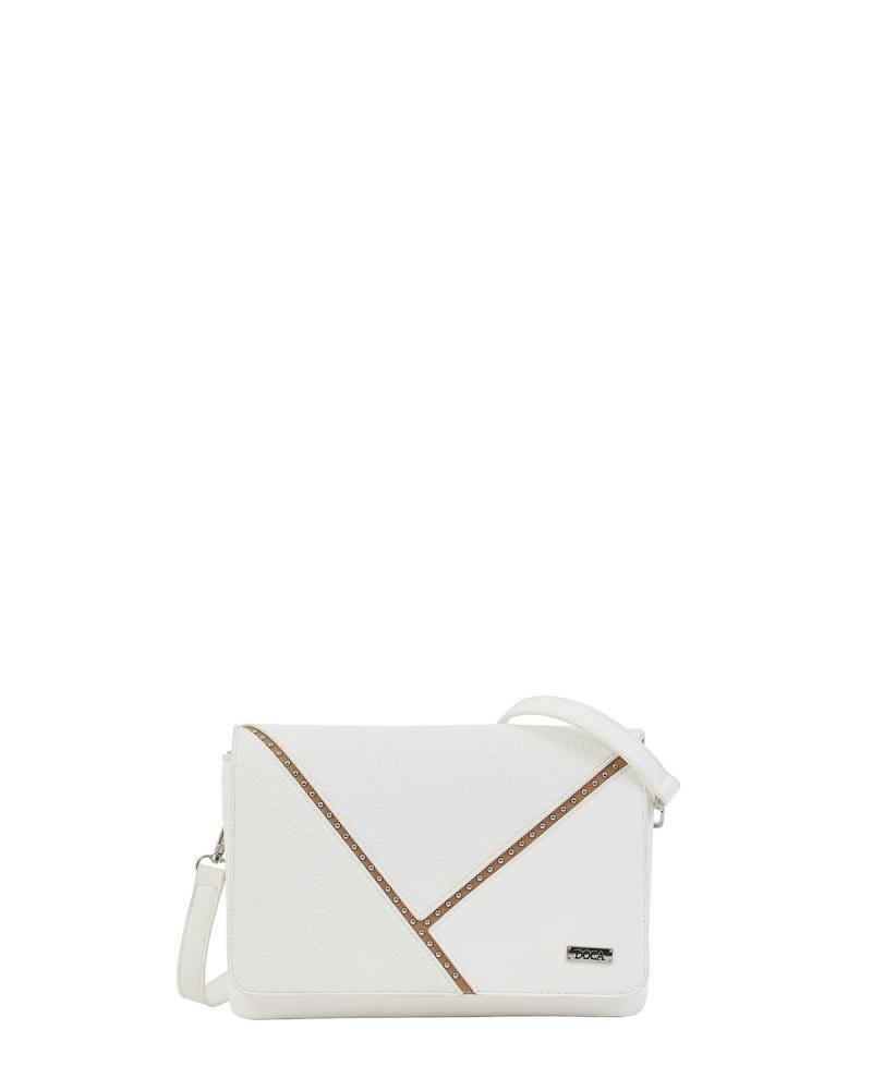 White cross body bag