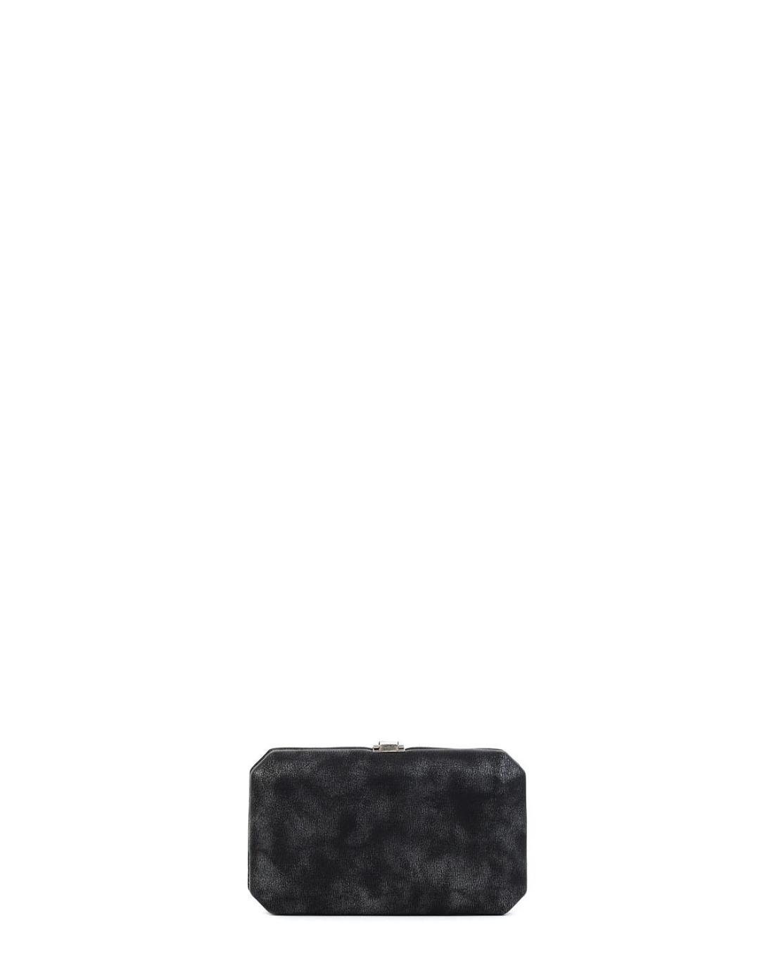Βραδινό τσαντάκι clutch μαύρο