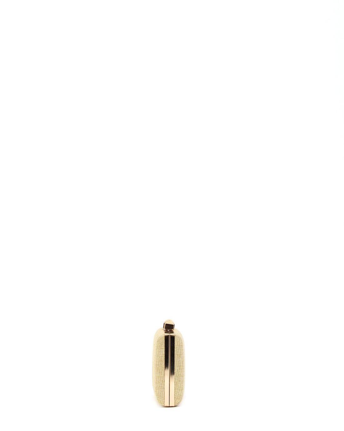 Golden clutch-tasche