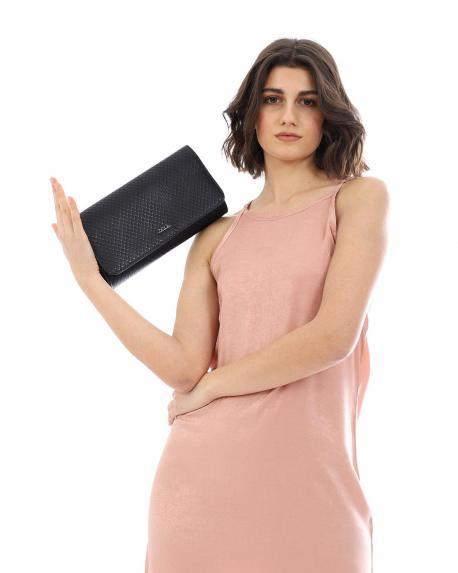 Braune umschlagtasche